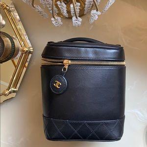 Chanel vanity cosmetic case
